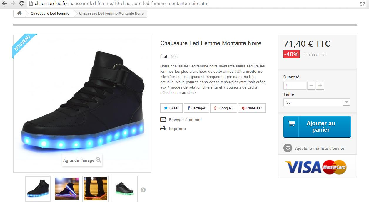 Nike Chaussure Led chaussure chaussure Prix Aubervillier 0ASHqU